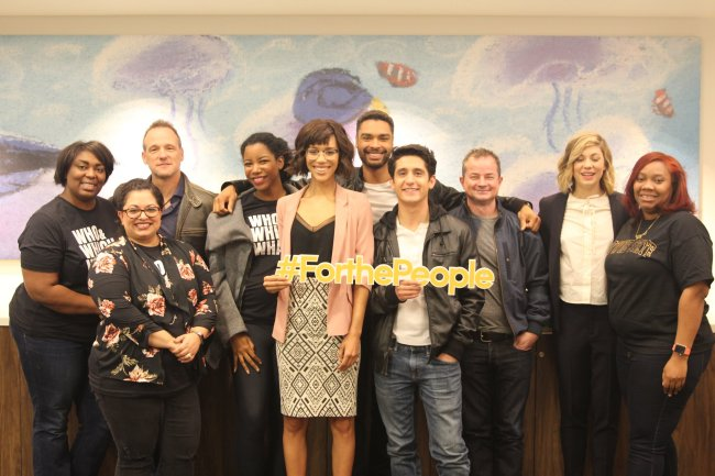 Interview With Rising Stars of ABC's For The People #ABCTVEvent #ForThePeople