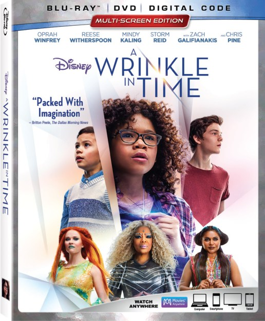 A Wrinkle In Time In Stores Today With Loads of Bonus Features #ad #WrinkleInTime