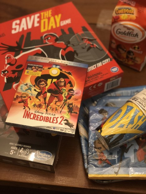 Plan an Incredible Family Game Night with Games, Snacks, and The Incredibles of Course