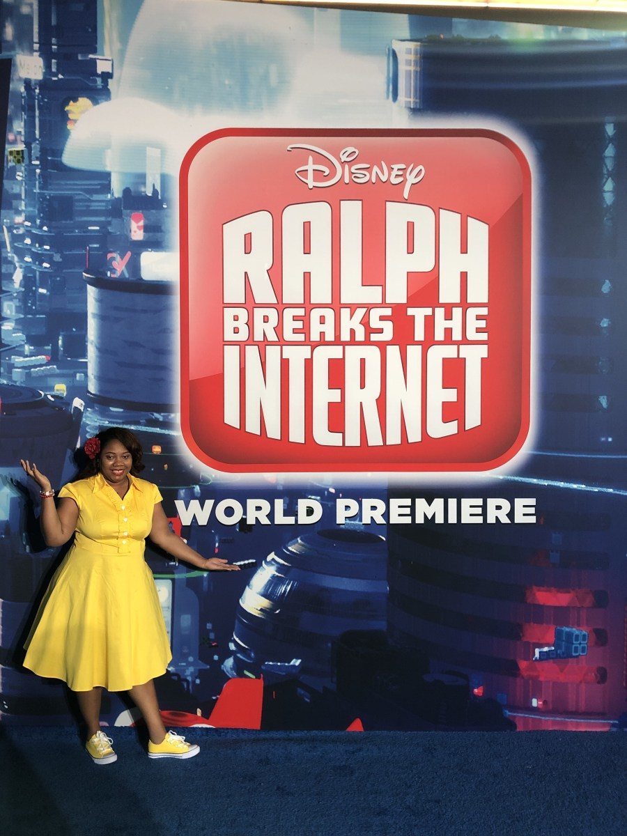 My Ralph Breaks the Internet Blue Carpet Experience and How To Get My Belle Inspired Look | #RalphBreakstheInternetEvent