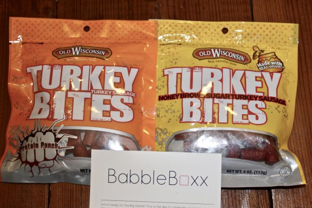 Old Wisconsin Turkey Bites - #FoodFootballBBoxx