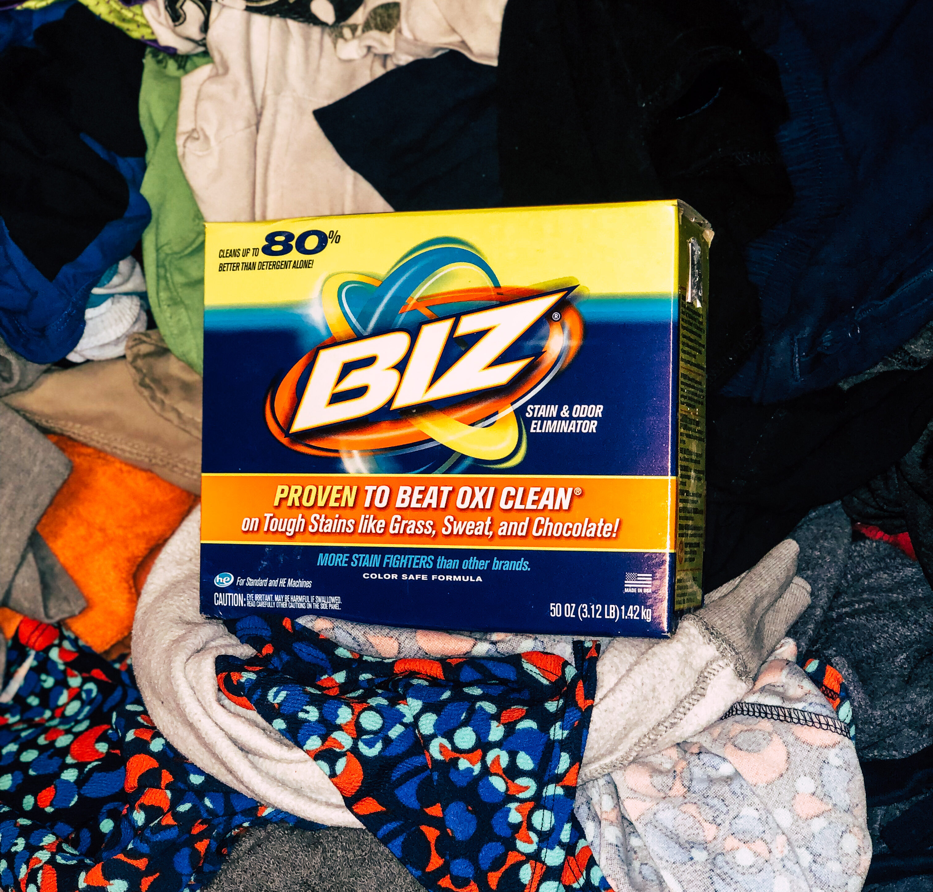 Have You Tried Biz For Your Laundry Solutions
