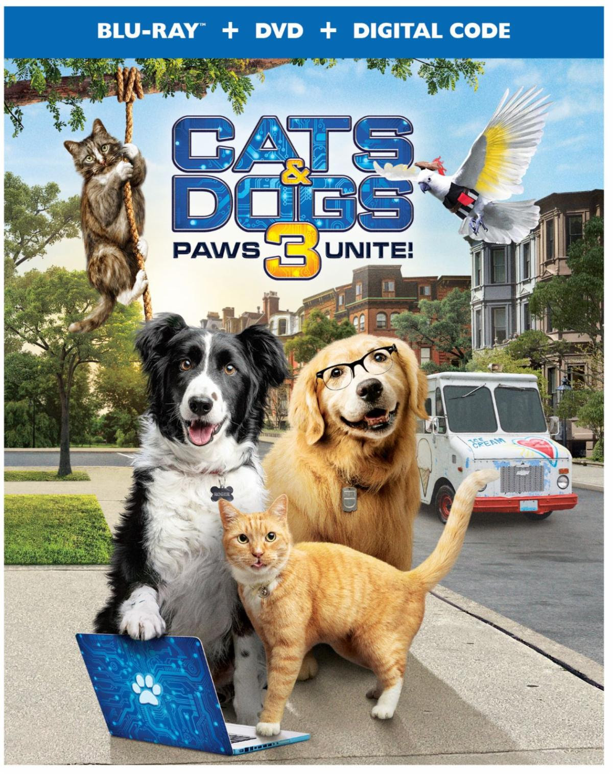 Cats & Dogs 3: Paws Unite Available On Digital Now