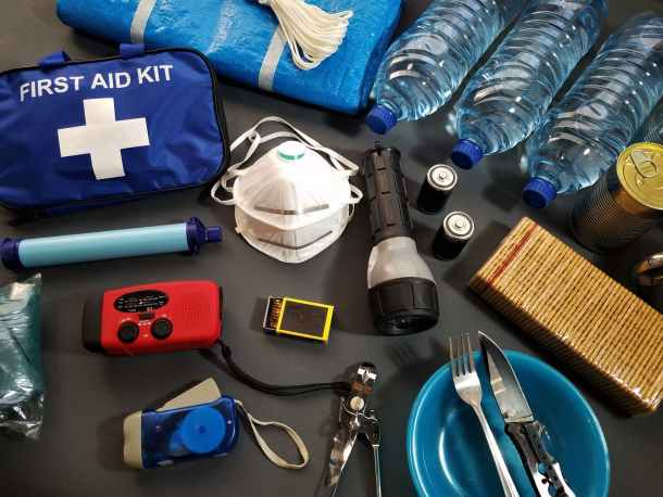 first aid and surival kits