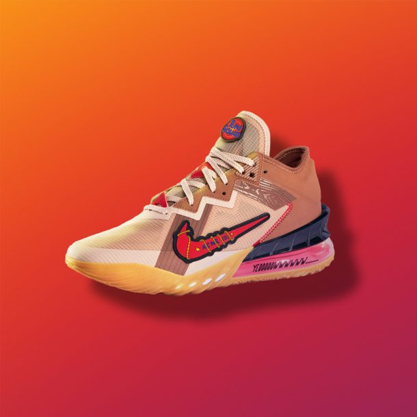 LeBron 18 Low Road Runner vs. Wile. E. Coyote