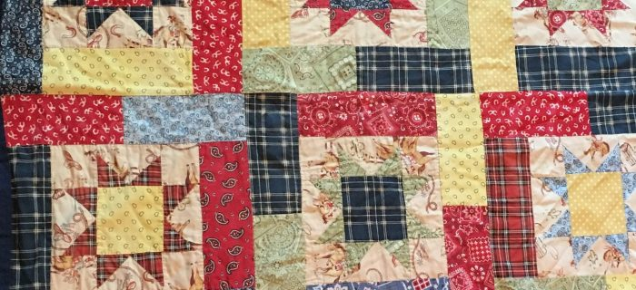 Nathan's Quilt – Lucky Stars