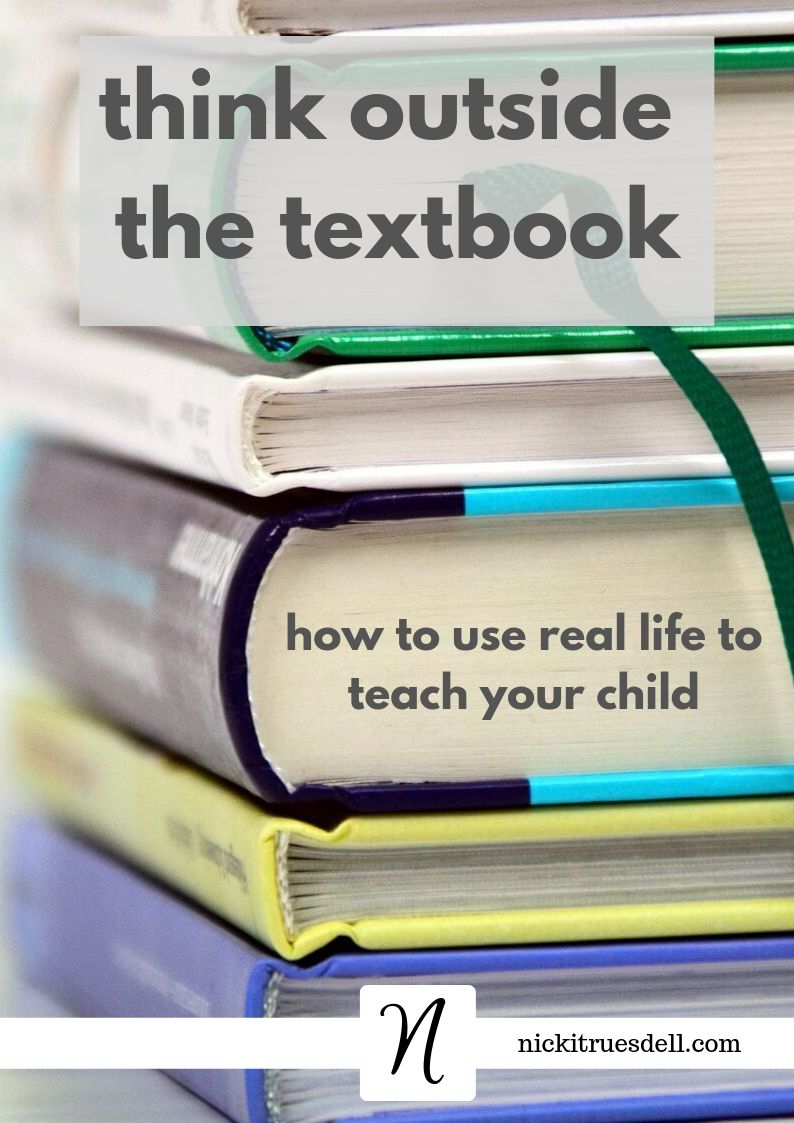 Think outside the textbook for homeschool learning