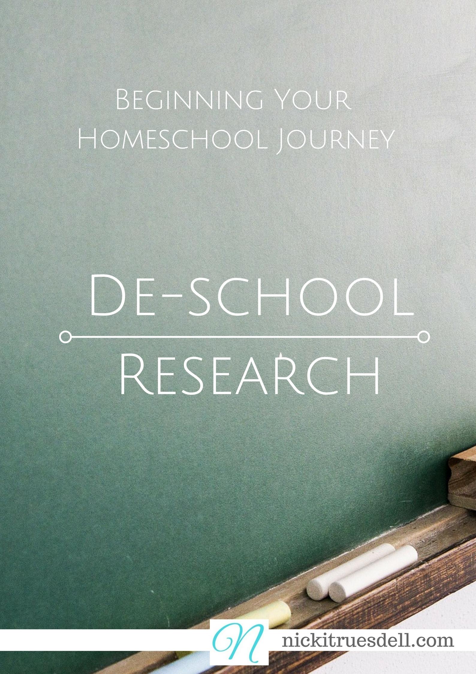 How to get started homeschoolin