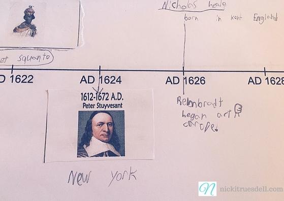 1600's history timeline