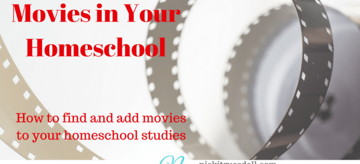Movies in Your Homeschool