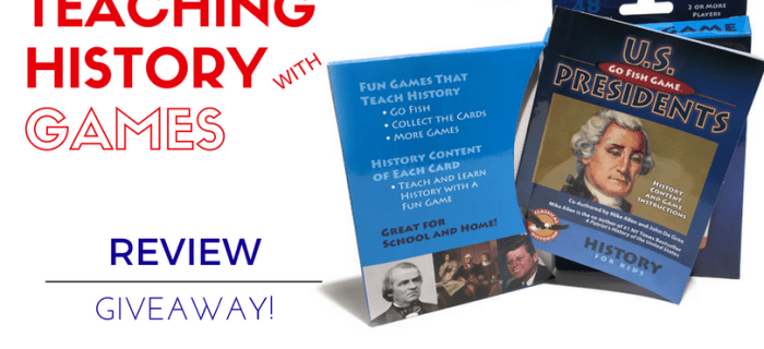 Teaching History With Games (Review and Giveaway!)