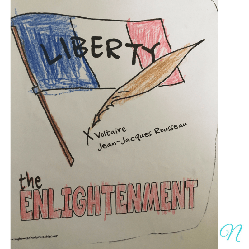 French Revolution coloring page