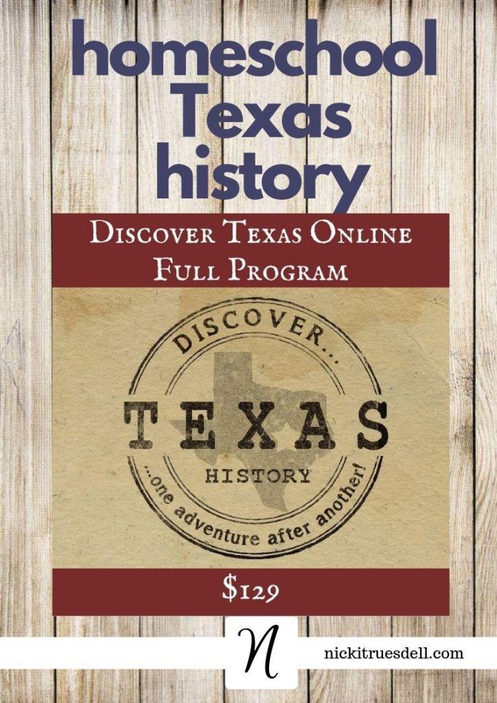 homeschool texas history