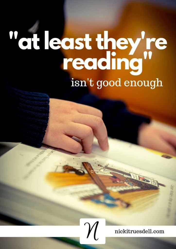 at least they're reading