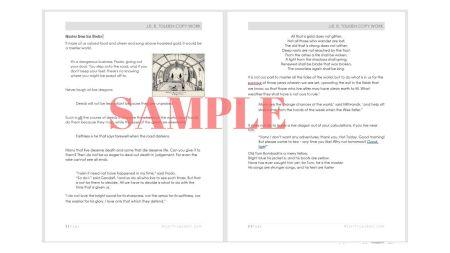 J. R. R. Tolkien Copy Work