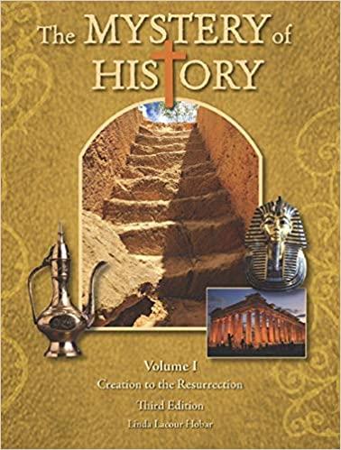 Mystery of History Volume 1 follow along
