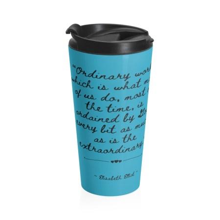 Nicki Truesdell travel mug