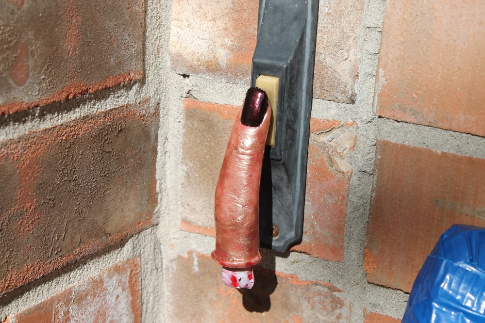 Severed Finger Doorbell