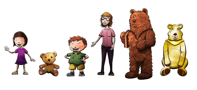 Picture of One Night in Beartown characters