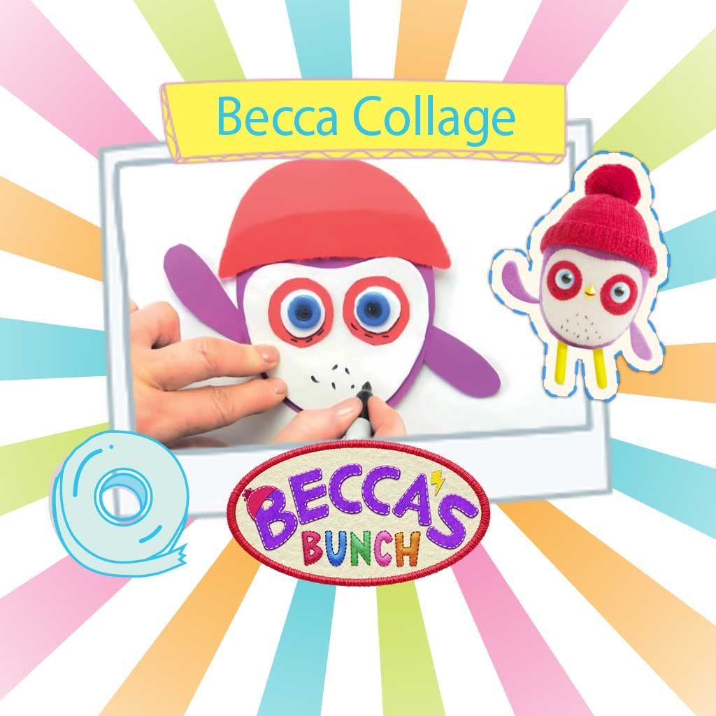 Beccas Bunch Becca Collage Printable How To Guide