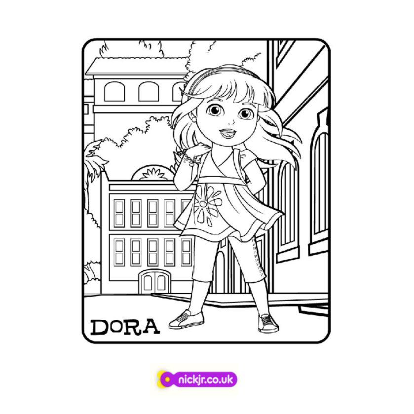 dora & friends into the citydora and friends dora colour
