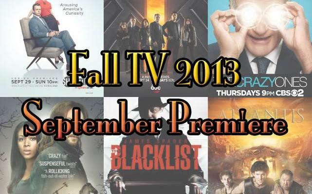 Fall TV 2013 – September