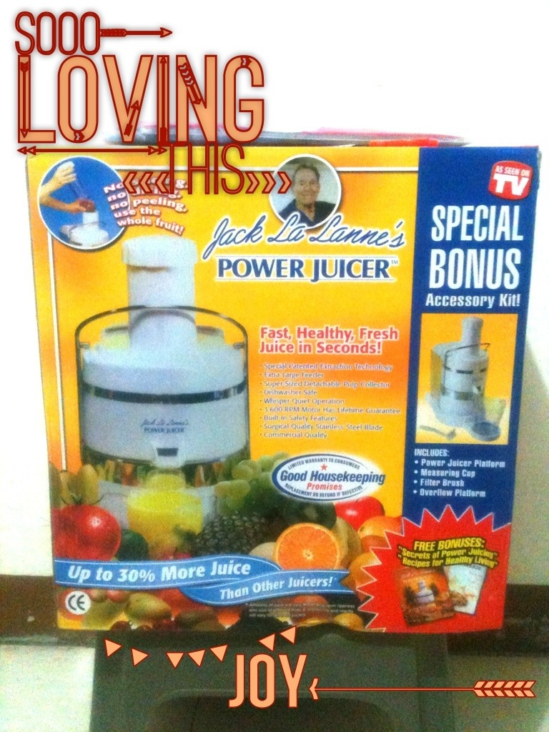 Jack La Lanne's Power Juicer