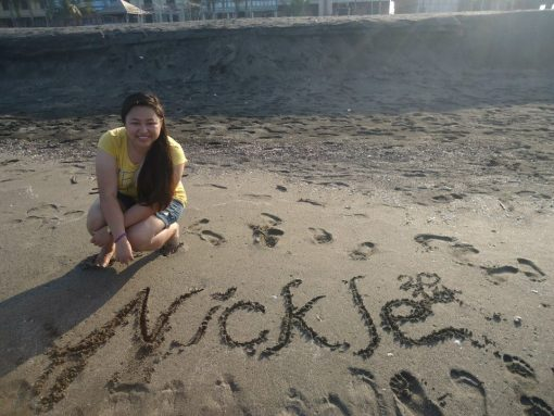 wrote my name in sand