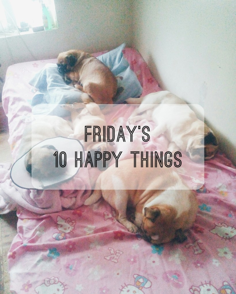 Friday's 10 Happy Things 3