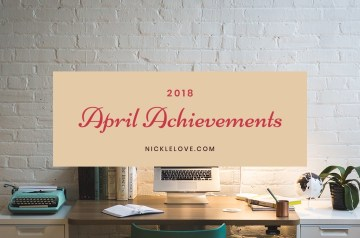 2018 April Achievements