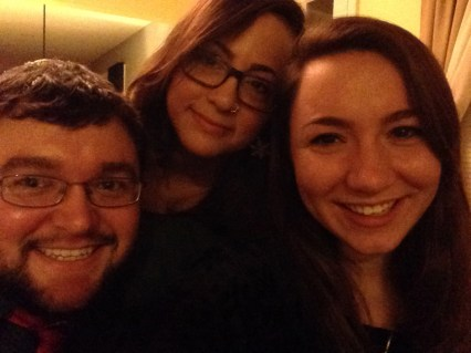 My sisters and I. I love them to death.