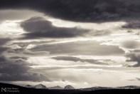 Cloud formations in Hvalfjörður