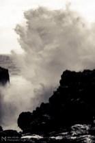 Breaking wave at Öndverðarnes