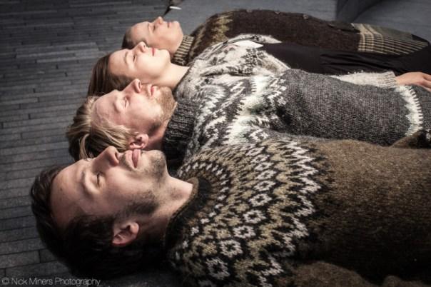 Icelanders in London! - Guðný, Sesselía, Harry and Helgi