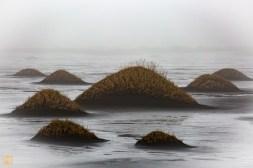 Sand dunes at Stokksnes