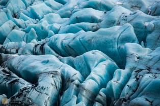 Detail, Svínafellsjökull glacier