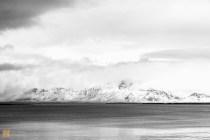 Looking across the bay from Reykjavík