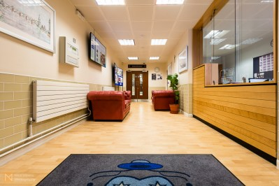 Sixth form foyer