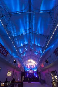 The huge hall in Reykjavík Art Museum is the venue for Mammút's headline gig on the Thursday