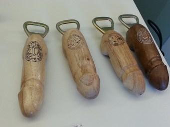Bottle openers for dicks.