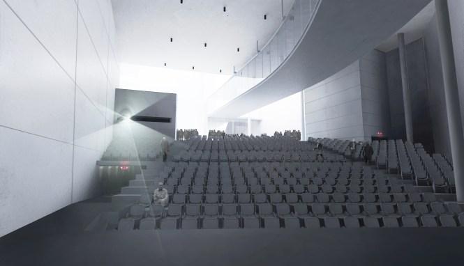 Render - Interior - Auditorium from Stage