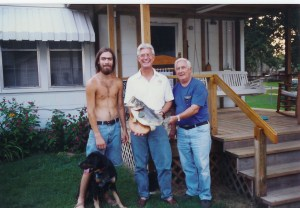 Me, Guthrey, Vance, Guthrie, Pappy - Indianola, MS 95(ish)