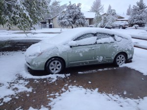 """The Green Machine (my awesome """"new"""" Prius)"""