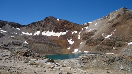 Tarn near Pinchot Pass