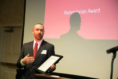 Humbled receiving LYP's Humanitarian Award