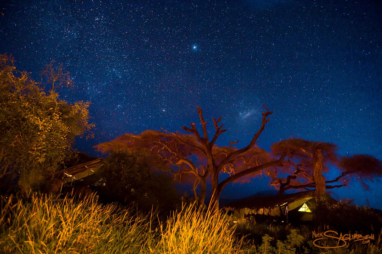 Zuru Kenya - African night sky