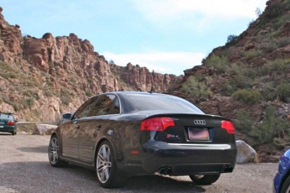 Audi RS4 Black