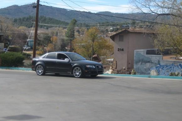 2007 Audi RS4 Black