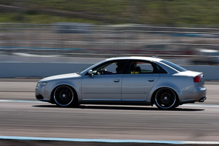 Pictures Of My Audi A4 Racing At The Track Nick S Car Blog