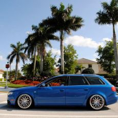 Featured Ride: Sprint Blue Audi S4 Avant with Rotiform BLQs